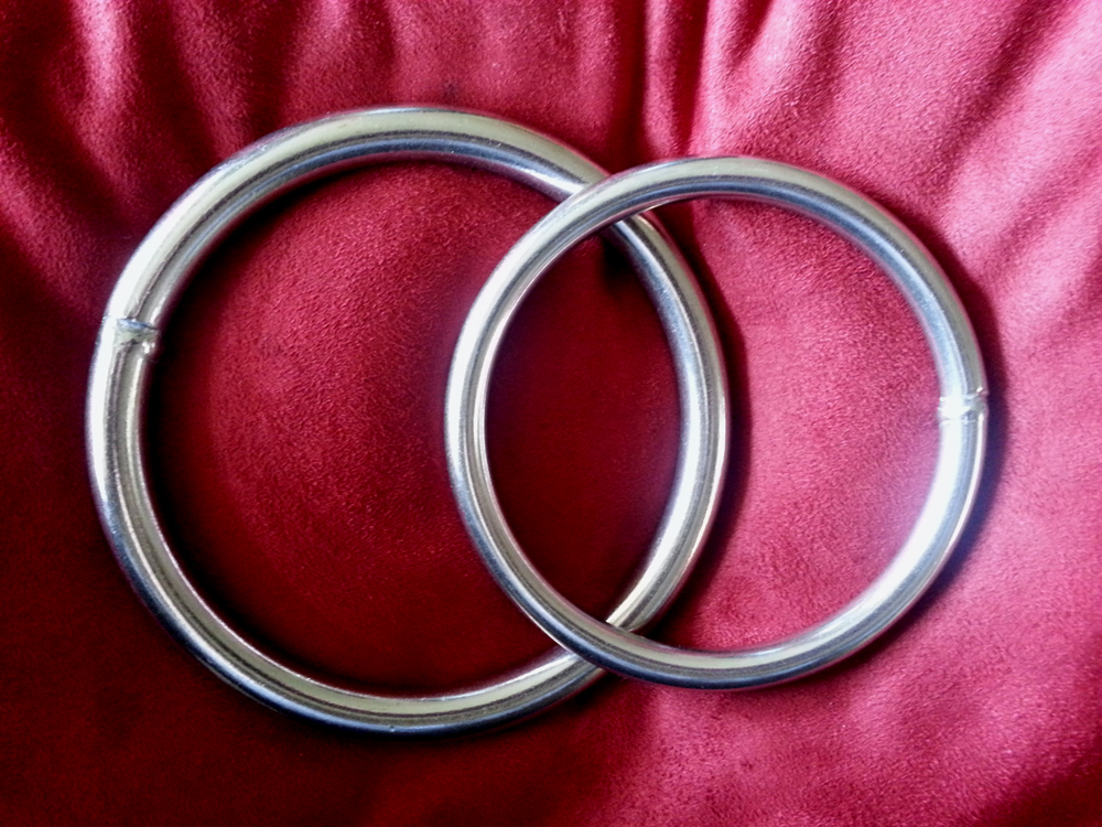Stainless Steel Tabla rings David Yovino