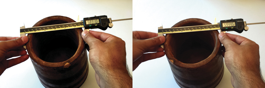 Caliper-Measurements